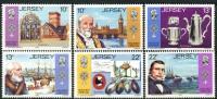 Ile De Jersey (1985) N 349 à 353 ** (Luxe) - Jersey