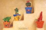 Original Anne Geddes Postcard, Postkarte, Carte Postale, New, Babies, Little Children, Tile, Cactus, Paprika - Children