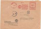 Germany Firm Cover Meter Ausfuhrstelle Des Deutschen Handwerks Berlin 4-10-1941 Freistempel - Fysica