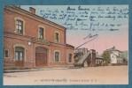 MOYEUVRE-GRANDE - La Gare Et La Poste   -  9X14 - BATT 10 - Unclassified