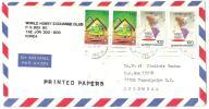 Cover Corea To Honduras 1997 ( Map Stamps ) - Korea, South