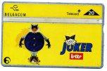 TELECARTE BELGIQUE THEME...JEUX...JOKER LOTTO.... VOIR PHOTO SCANNEE - Jeux