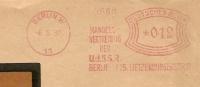 Germany Window Cover With Meter Handels-Vertreitung Der U.d.S.S.R. Berlin 8-5-1932  Freistempel - Wetenschappen