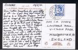 RB 798 - 1966 Postcard Floating Market Dhornburi Thailand - GB Stamp Cancelled Naval Military British Fleet Mail 20 - Poststempel