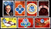 BELIZE : 26-05-1981 (OBL) : Mich : 544-550  Cote : 13,00 Eur  Yv : 512-518 - Belize (1973-...)
