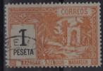 MAROC - POSTES LOCALES - MAZAGAN - AZEMMOUR - MARRAKECH, YVERT Nº 43 - USADO - Morocco (1956-...)