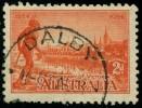 Pays :  46 (Australie : Confédération)      Yvert Et Tellier N° :   94 (o) - Used Stamps