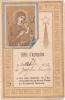 18788 Acte Consecration ND Perpetuel Secours Billet D'agrégation, Josephe Trivily, 30 Oct 1892 - Images Religieuses