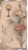18811 - Oeillet - Souvenir Premiere Communion Veissiere Antoine, Boulogne Sur Mer France, 1920 - Images Religieuses
