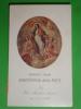 Madonna Della PACE - Santuario CESTA Di COPPARO,Ferrara - Santino Tip.Luigi Parma - Images Religieuses
