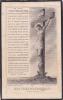 18815- Jesus Misericorde- Mort Mortuaire Madame Bajeot, 1837- 1919 Rennes 35 France -  Soeur Monique - Images Religieuses