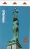 LATVIA(Alcatel) - Monument, First Issue 10 Ls, Used - Latvia