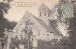 02 CUISY EN ALMONT  Du Monde Devant  L'  EGLISE Et CIMETIERE  En 1906 - Unclassified