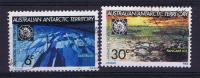 Austalian Antartic Terr. 1971 Michel 19+20 Used - Non Classificati