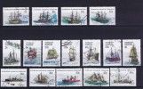 Austalian Antartic Terr. 1979 Michel 37- 52 USED  Ships , Boats - Non Classificati