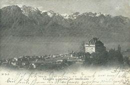 AK Clarens Montreux Chateau Du Chatelard 1902 #01 - VD Vaud