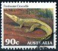 Australia 1981 Wildlife 90c Freshwater Crocodile Used - 1980-89 Elizabeth II