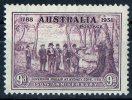 Australia 1937-1938 Governor Phillip At Sydney Cove 9d Purple MNH  SG 195 - Mint Stamps