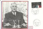 """CDG 95 """" Premier Jour D´Emission 8 Novembre 1980 à Paris """" - De Gaulle (Général)"""