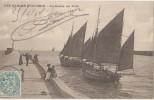 CPA 85 LES SABLES D'OLONNE Sortie Du Port Des Bateaux De Pêche Voiliers 1904 - Sables D'Olonne