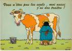 Vous N'êtes Pas Les Seuls, Moi Aussi J'ai Des Traites ! (vache) - Humour