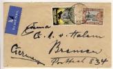 KENYA, TANGANYIKA , UGANDA - 1936 , Brief Aus Nyeri Nach Bremen - Kenia (1963-...)