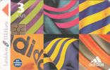 LATVIA - Adidas 2, Tirage 20000, Exp.date 01/05, Used - Letland