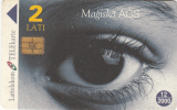 LATVIA - Magic Eye 1, Exp.date 12/00, Used - Latvia