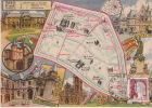 LES ARRONDISSEMENTS DE PARIS ILLUSTRES - Carte Geographique Du 3eme Arrondissement. - Arrondissement: 03