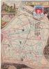 LES ARRONDISSEMENTS DE PARIS ILLUSTRES - Carte Geographique Du 19eme Arrondissement. - Arrondissement: 19