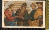 """D860  MIlano, Pinacoteca Di Brera MIlano - """"sposalizio Di Maria Vergine"""" Di Raffaele Sanzio - Formato Piccolo - Paintings"""