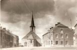 Froidchapelle La Place Et L'église Carte Photo Bints Philippeville - Froidchapelle