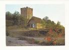 Cp, 46, Capdenac Le Haut, Uxellodunum, Coucher De Soleil Sur Le Donjon, Voyagée  1988 - France