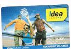 INDIA - IDEA CELLULAR  (GSM RECHARGE) -  PEOPLE 324  - USED -  RIF. 718 - India