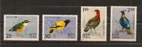 INDE,oiseaux,Y-T  428 à 431 **(MNH° - Oiseaux
