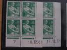 LA MOISONNEUSE, PAYSANNE -  N° 1231 **  PAIRE CD DU 18.12.61 - 1960-1969