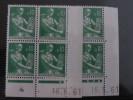 LA MOISONNEUSE, PAYSANNE -  N° 1231 **  PAIRE CD DU 16.5.61 - 1960-1969