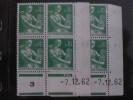 LA MOISONNEUSE, PAYSANNE -  N° 1231 **   PAIRE  CD DU 7.12.62 - 1960-1969