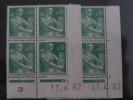 LA MOISONNEUSE, PAYSANNE -  N° 1231 **    PAIRE CD DU 17.4.62 - 1960-1969