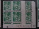 LA MOISONNEUSE, PAYSANNE -  N° 1231 **    PAIRE CD DU 30.3.62 - 1960-1969