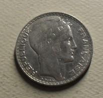 1931 - France - 10 FRANCS, Turin, Argent, Silver, KM 878, Gad 801 - K. 10 Franchi