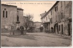 04  SAINT MICHEL  PLACE DE LA FONTAINE ET ROUTE DE L'OBSERVATOIRE ANIMEE - Other Municipalities
