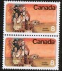 CANADA   Scott #  643**  VF MINT NH Pair - 1952-.... Règne D'Elizabeth II