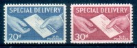 US USA 1954 SPECIAL DELIVERY  UNIF. E20-21   ** MNH - Express & Recommandés