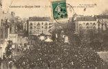 CARNAVAL A CHALON 1909 LA FOULE - Chalon Sur Saone
