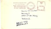 Poland Firm Cover RSW Prasa Ksiazka Ruch With Postalia Meter, Warszawa 5-8-1980 - Marcofilie - EMA (Print Machine)