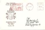 Poland Nice Card Visit Pape With Satas Rotary Meter, Type 27.1, Kielce 31-5-1991 - Pausen