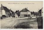 Carte Postale Ancienne Andelot En Montagne - Rue Principale Et Quartier De La Sourde - Unclassified