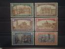 Italia 1924. Yvert 163-8 * MH - 1900-44 Victor Emmanuel III