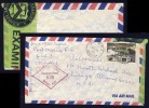 JAMAICA - 1987 - AIR MAIL COVER FROM PORT MARIA TO CHICAGO, USA PASSED BY US CUSTOMS - Jamaica (1962-...)